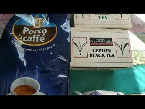 Черный чай и кофе. Где купить. Черногория. Многодетная семья