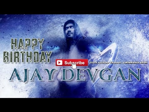 Ajay Devgn Birth Day Special Mashup 2017 HD