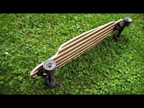 BUILD A LONGBOARD / Fabrication longboard     #VidClemProd