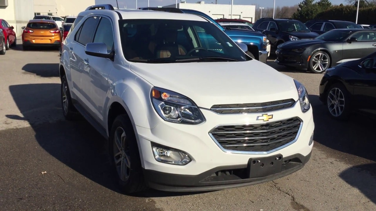 2017 chevrolet equinox awd premier white roy nichols. Black Bedroom Furniture Sets. Home Design Ideas