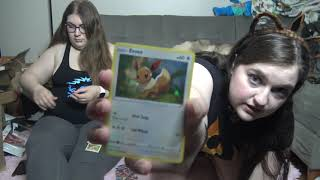 Courtney  Abby Pokemon TCG Booster Pack Opening 3
