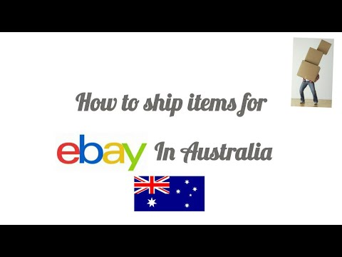 How To Ship Items For Ebay In Australia