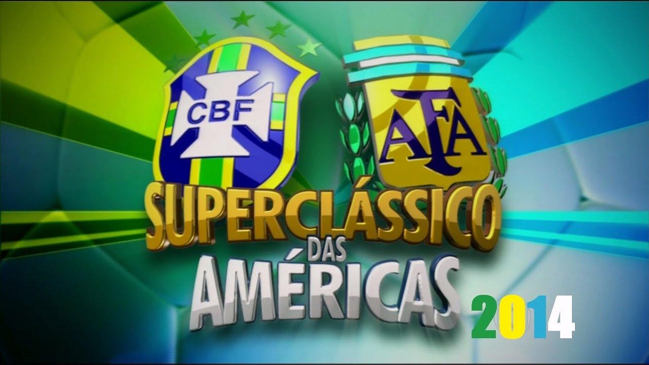 Argentina Vs Brasil: Superclássico Das Américas