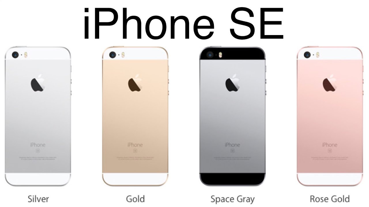 Iphone Se Silver Vs Space Grey