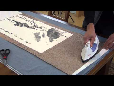 Lesson 49 How to Make a Chinese Silk Scroll (Part 3-2)