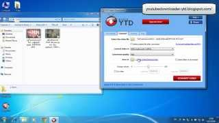 How To Convert File Format With YTD Video Downloader