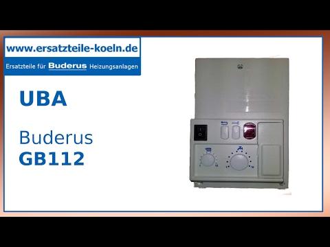 Gut gemocht Buderus Steuerung UBA 1.5 Zethos GB112, GB122, U104, U122, U124 OW71