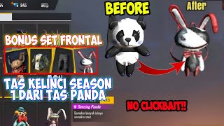 CONFIG SET FRONTAL + TAS SEASON 1‼️ TERBARU 2020 ANTI BANNED & WORK 100%- GARENA FREE FIRE