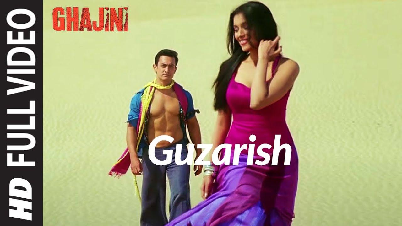 Download Full Video: Guzarish | Ghajini | Aamir Khan, Asin | A.R. Rahman | Javed Ali, Sonu Nigam