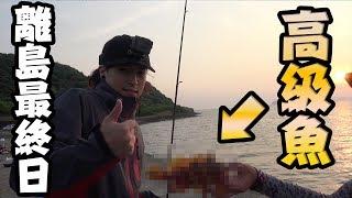 #4 サバイバル最終日に高級魚が釣れた!【離島サバイバル】