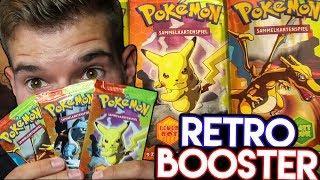 Feuerrot & Blattgrün Packs ⌛️ POKÉMON RETRO Booster Opening