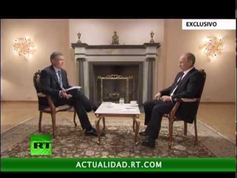 Entrevista exclusiva de RT al presidente de Rusia, Vladímir Putin