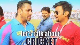 vuclip Salman Khan, Huma, Lisa & Others at Colors Celebrity Cricket League