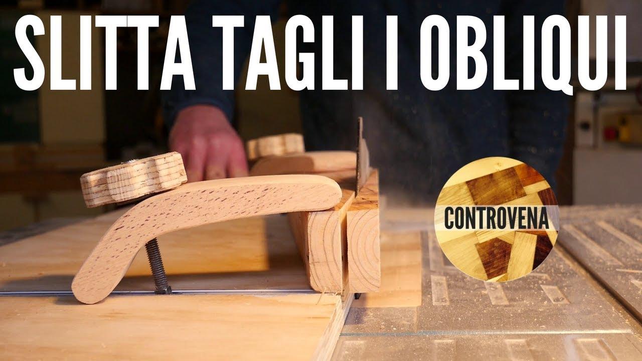 Slitta tagli obliqui al banco sega fai da te progressi for Dima per spine legno fai da te