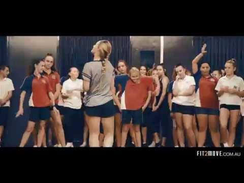 """HAPPY"" C2C Ft. D. Martin - FIT2MOVE School Dance Program"
