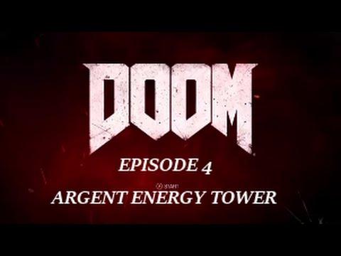 Doom Episode 4 Argent Energy Tower Ultra Violence Walkthrough