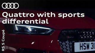 The new Audi RS 5 Coupé: quattro with sports differential