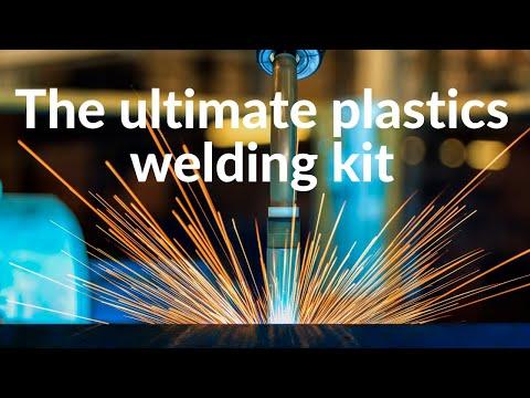 Plastics Welding Using The Leister Triac Plastic Welding Kit Mp4