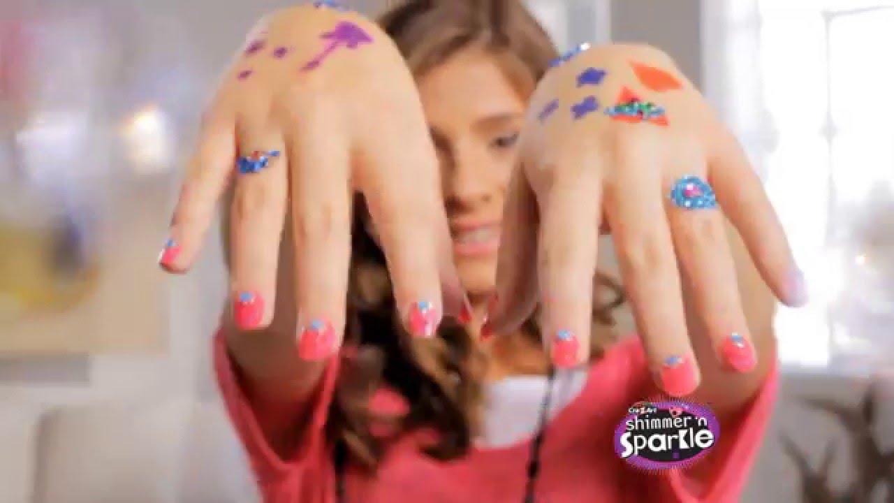 Cra z art shimmer sparkle designer nail tattoo studio youtube cra z art shimmer sparkle designer nail tattoo studio prinsesfo Choice Image