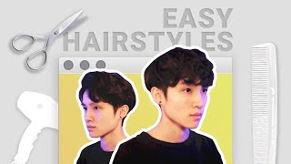 HOW I DO MY HAIR ✂️ wavy hairstyle tutorial !