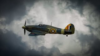 Shuttleworth drive in airshow August 2020