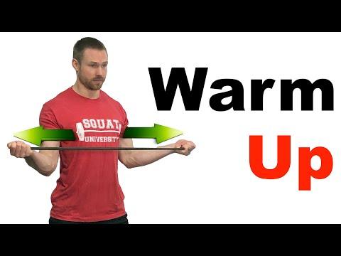 Quick Shoulder Warm Up (3 MINUTES)