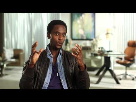 "The Blacklist: Redemption || Edi Gathegi  – ""Matias Solomon"" Interview 