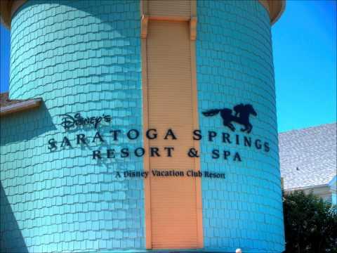 Saratoga Springs Resort Pool Area - Blue Kiss