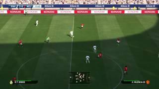 Pes 2015 PC - Breve Gameplay Madrid vs Manchester 60FPS