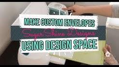 Make Envelopes Using Cricut Design Space