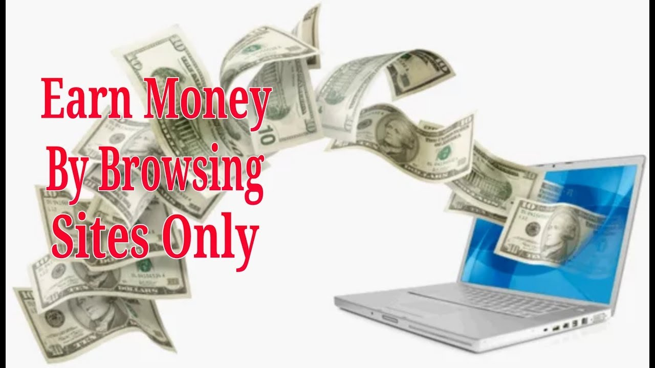 How To Earn Money By Browsing/Surfing Sites - YouTube