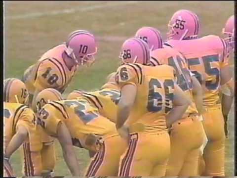 1991 Queen's Homecoming Football vs Ottawa