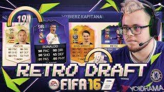 RONALDO TOTY! ⚽ RETRO DRAFT FIFA 16!!!