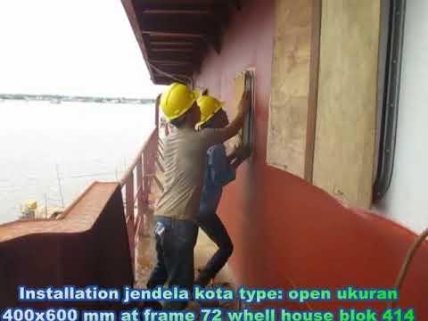 Shipbuilding Sabuk Nusantara 2000 GT. PT. Steadfast Marine, Kalimantan Barat. Oktober 2017