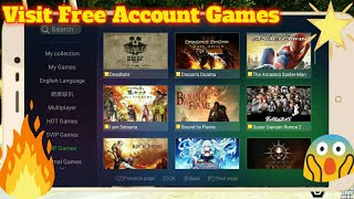 Get :- Free Gloud Games Account! Play With Your Android device! ALL Games View For My Subscribers!