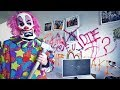 2 SCARY CLOWNS DESTROYED JAKE PAUL'S HOUSE!! (scary)