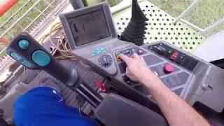 POV Hafer dreschen mit dem Claas Lexion 460