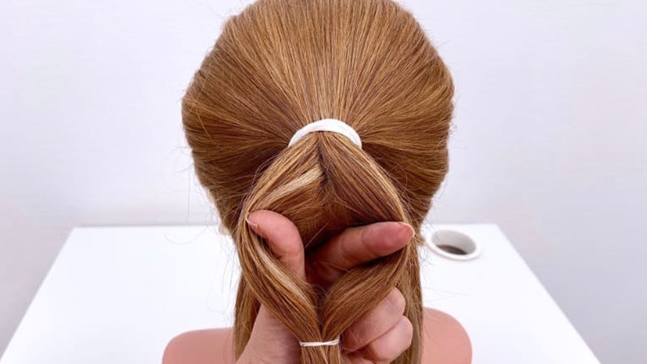 5 Причесок на длинные волосы. Легкие прически на каждый день