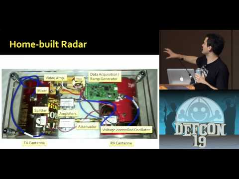 DEFCON 19: Build your own Synthetic Aperture Radar (w speaker)