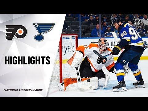 NHL Highlights   Flyers @ Blues 1/15/20