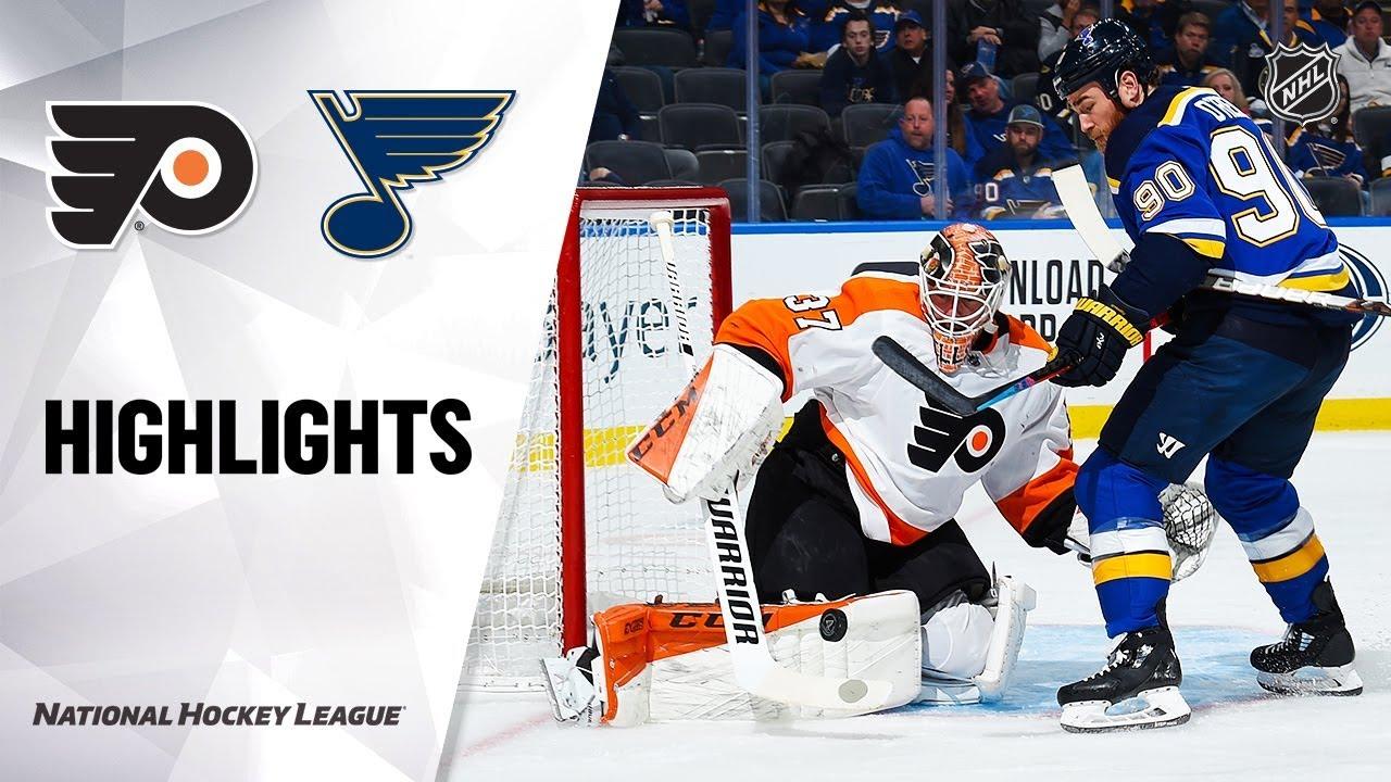 NHL Highlights | Flyers @ Blues 1/15/20