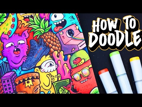 HOW TO DOODLE