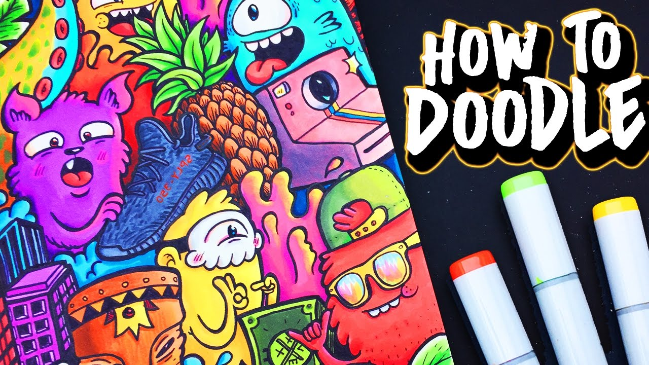 How to doodle youtube for How to make doodle art