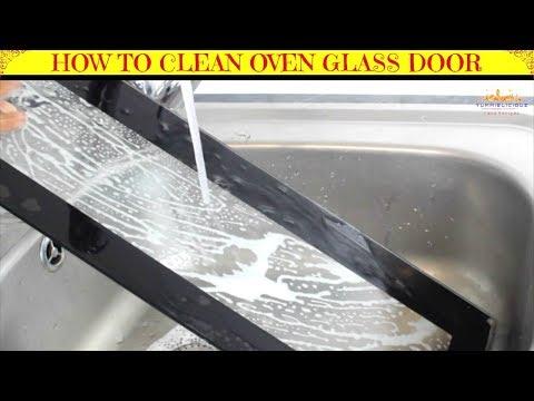 How to Remove & Clean Oven Glass Door | How to Clean Inside Oven Doors