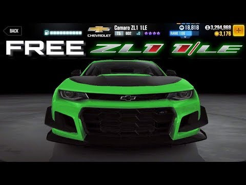 FREE CAR! WIN THE CAMARO ZL1 1LE FOR FREE! | CSR Racing 2