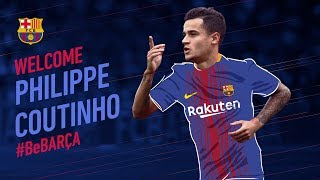 Philippe Coutinho, new FC Barcelona player