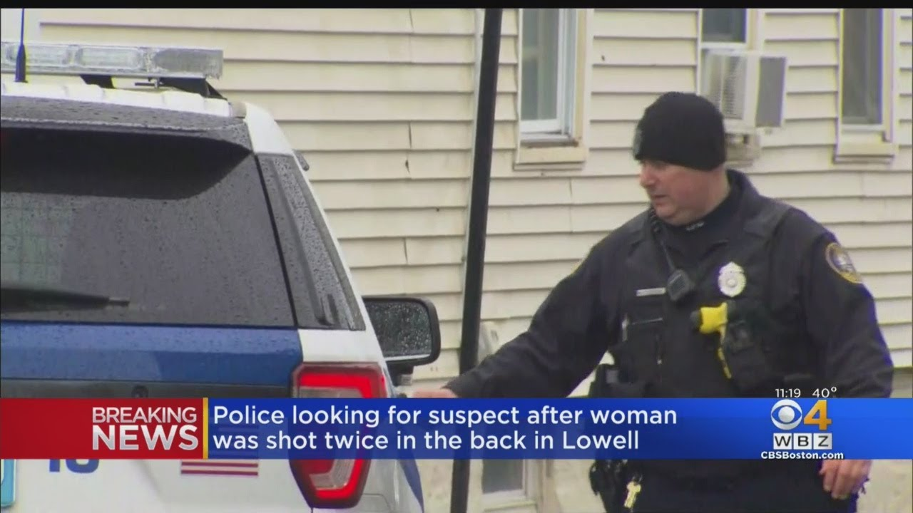 Lowell Police Search For Gunman After Woman Is Shot In The Back