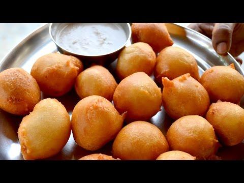 Mysore Bonda Recipe | Very Simple Mysore Bajji Recipe at Home Prepared By Mom | Food Cooking Videos