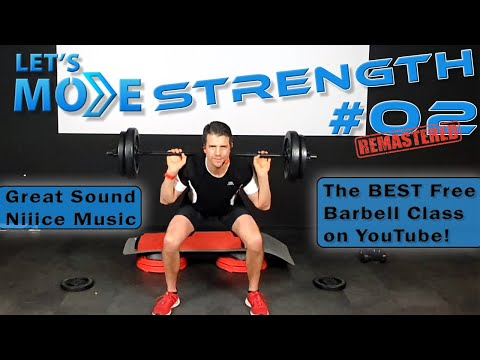 The FUN Barbell Workout With Excellent Sound! Let's Move Strength #02