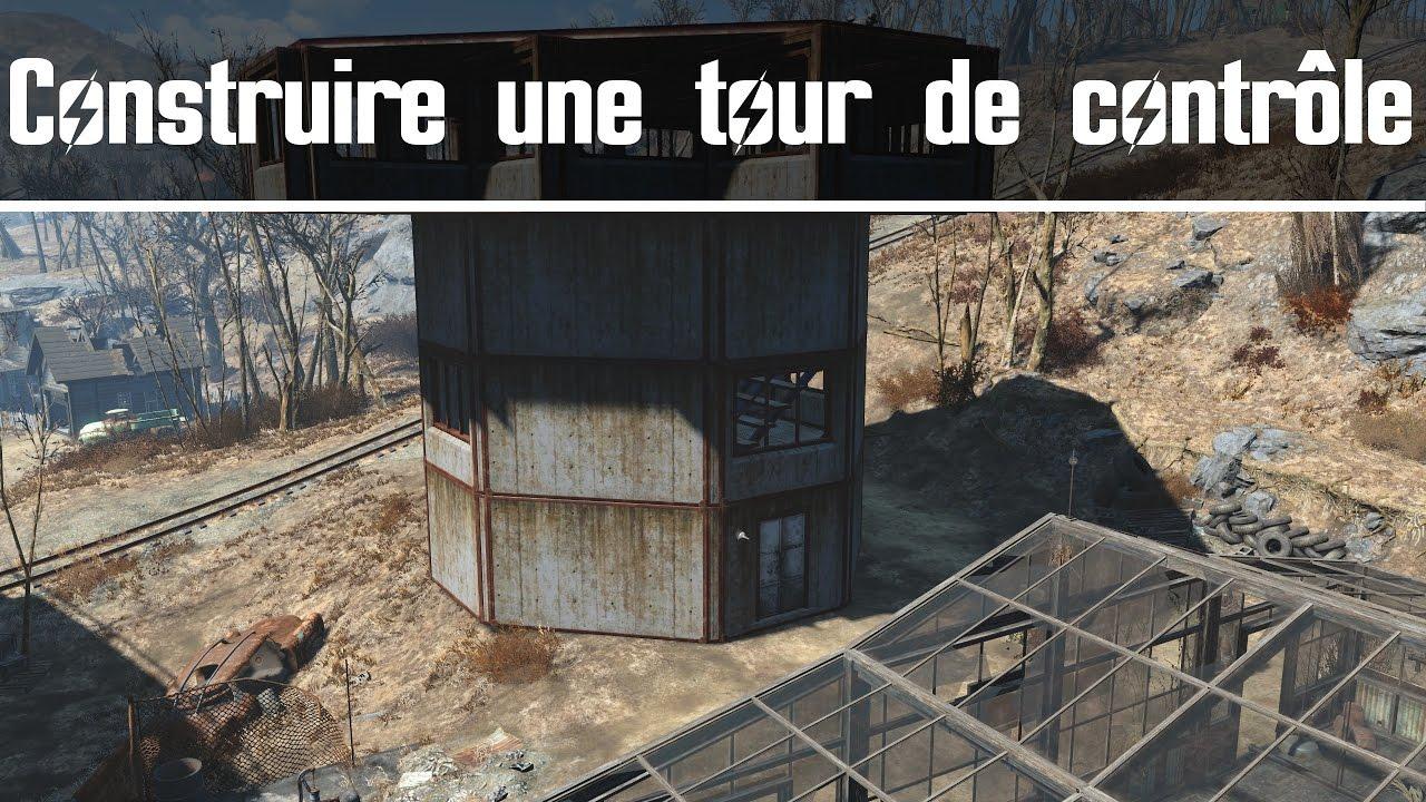 Extrêmement Fallout 4 - Construire une tour de contrôle - YouTube ID22